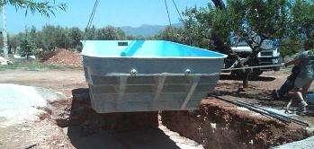 Instalación de piscinas